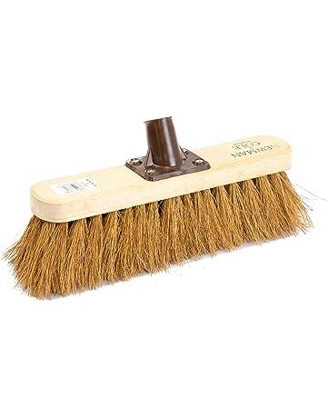 "36/"" brush Soft // Stiff // Cane// PVC 10/"" Various Replacement Broom Heads"