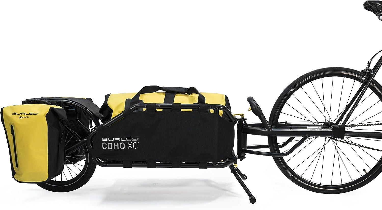 single weel camping bike trailer