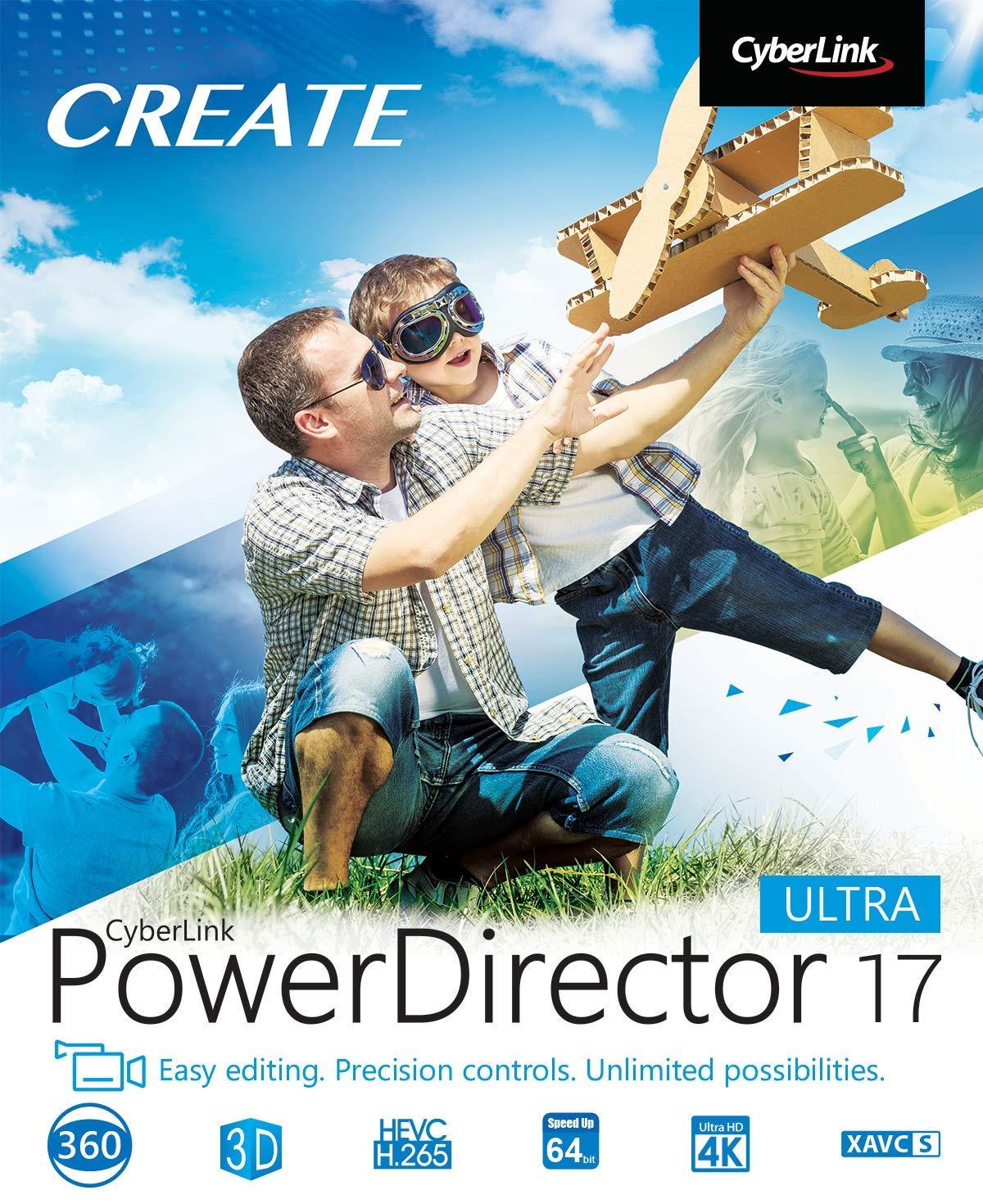 Cyberlink PowerDirector 17 Ultra [PC Download] by Cyberlink