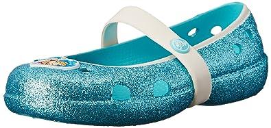 Crocs Keeley Frozen Flat ToddlerLittle KidPool4 M US