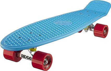 gelb//rot Ridge Skateboard Big Brother Nickel 69 cm Mini Cruiser