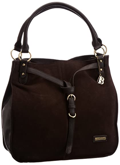 80c4f1789415 Bulaggi The Bag Womens 21064 Shoulder Bag Dark Brown 21064.23   Amazon.co.uk  Shoes   Bags