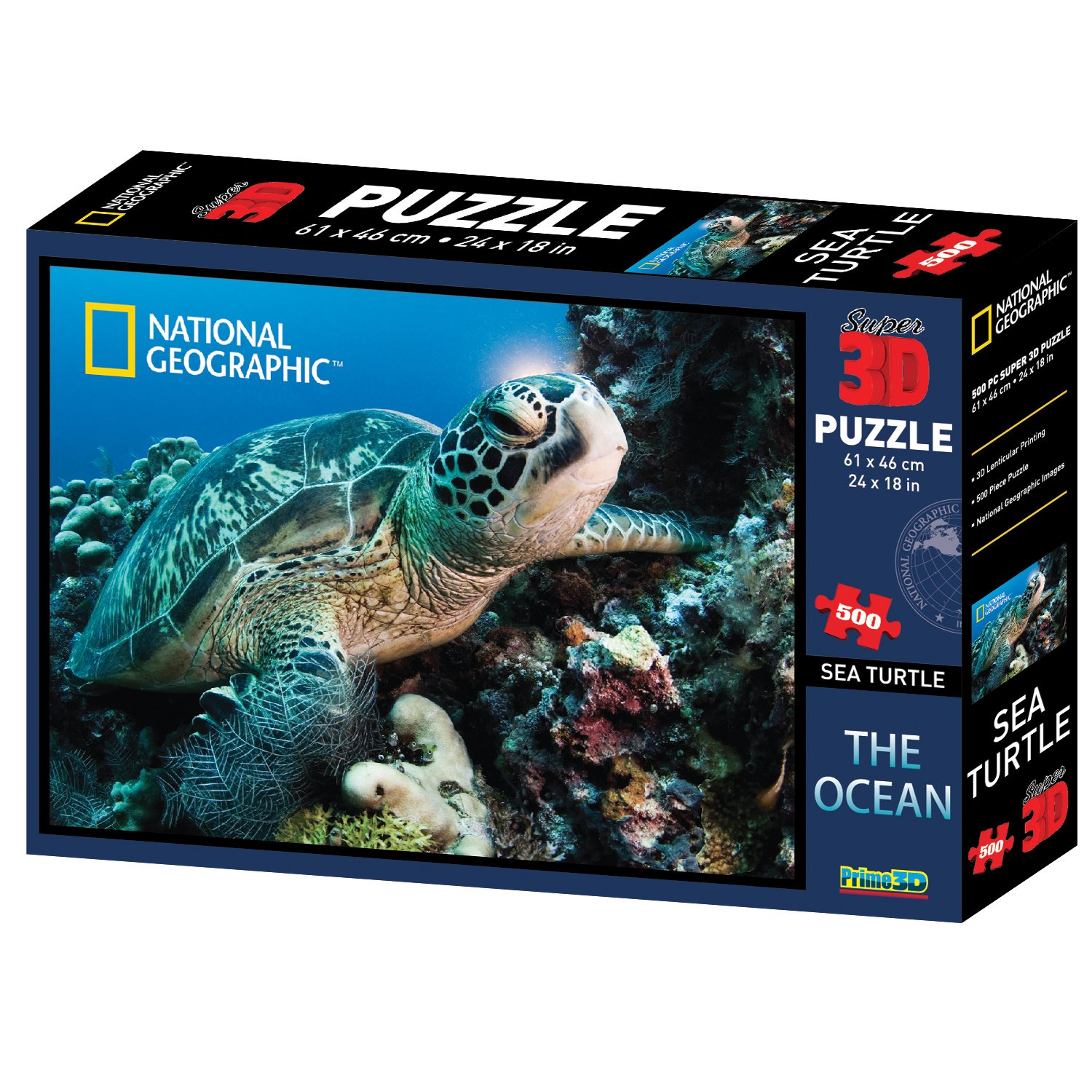 Ocean Sea Turtle 500 Piece Kidicraft Ltd 10028
