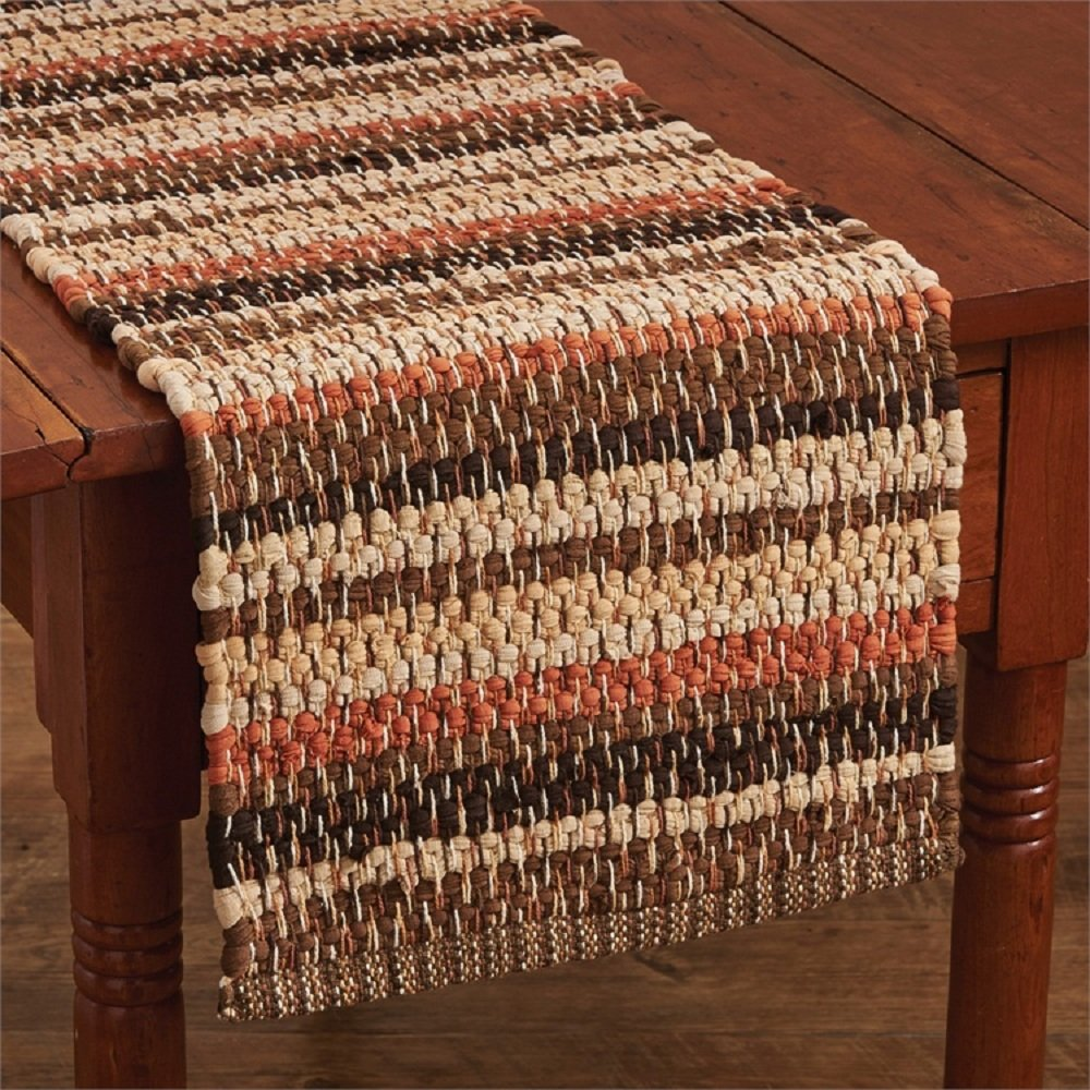 Park Designs Gather Together 13 Inches x 54 Inches Cotton Table Runners Chindi