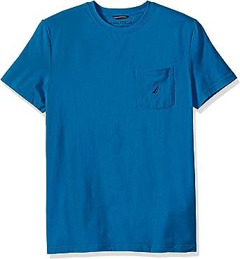 Choose SZ//color Details about  /Nautica Men/'s J-Class Cotton Stretch Pocket Tee