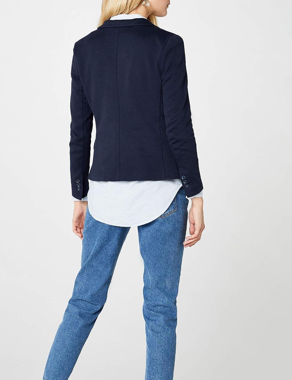 Vero Moda Womens Vmjulia Ls Blazer DNM Noos Grey