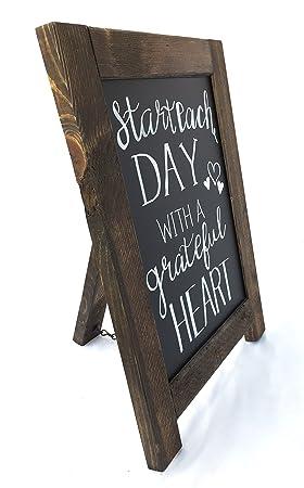 Marco de madera rústico mesa pizarra ideal para boda ...