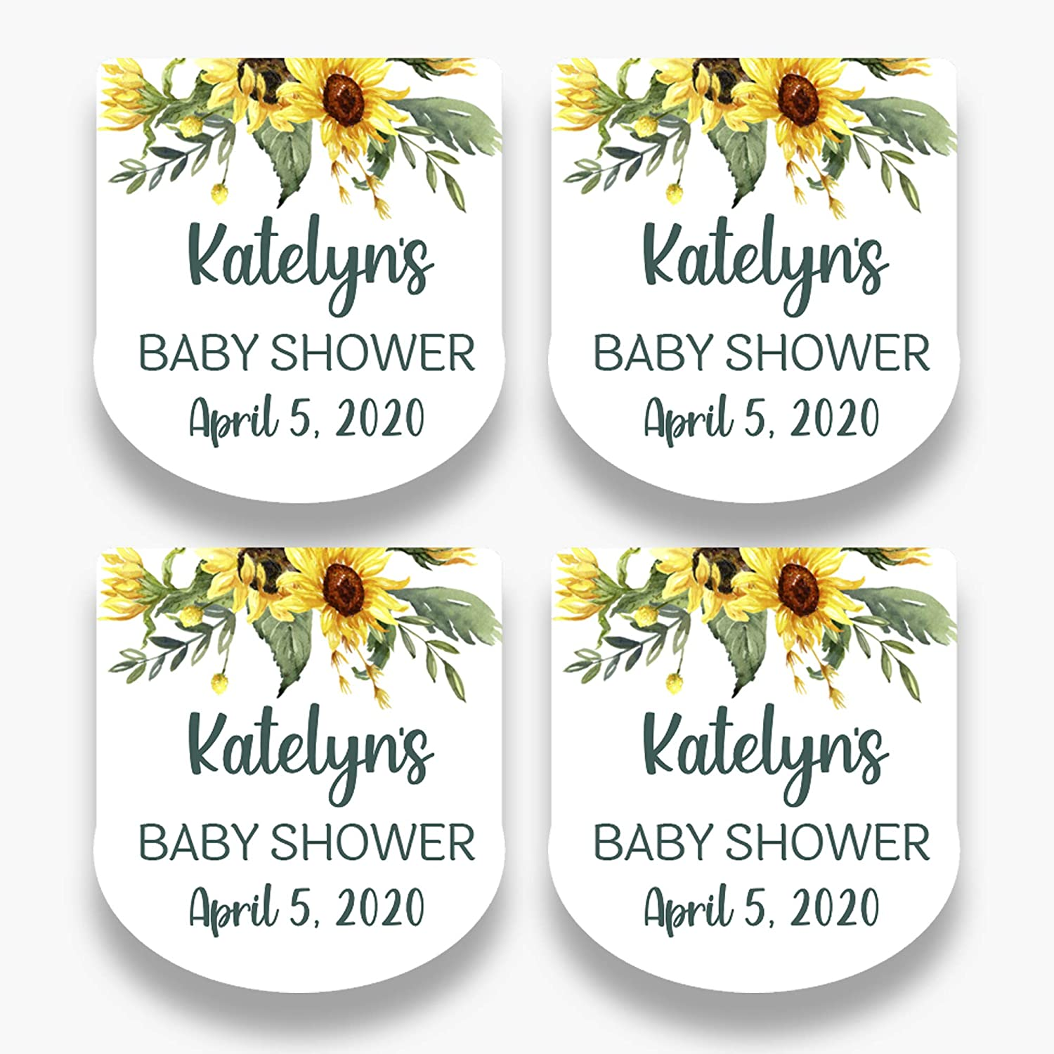 Custom Printed Labels for Small Favor Bottles  2 Label sizes for Bath and Body Works Pocket Bac  Falling Eucalyptus  FE20