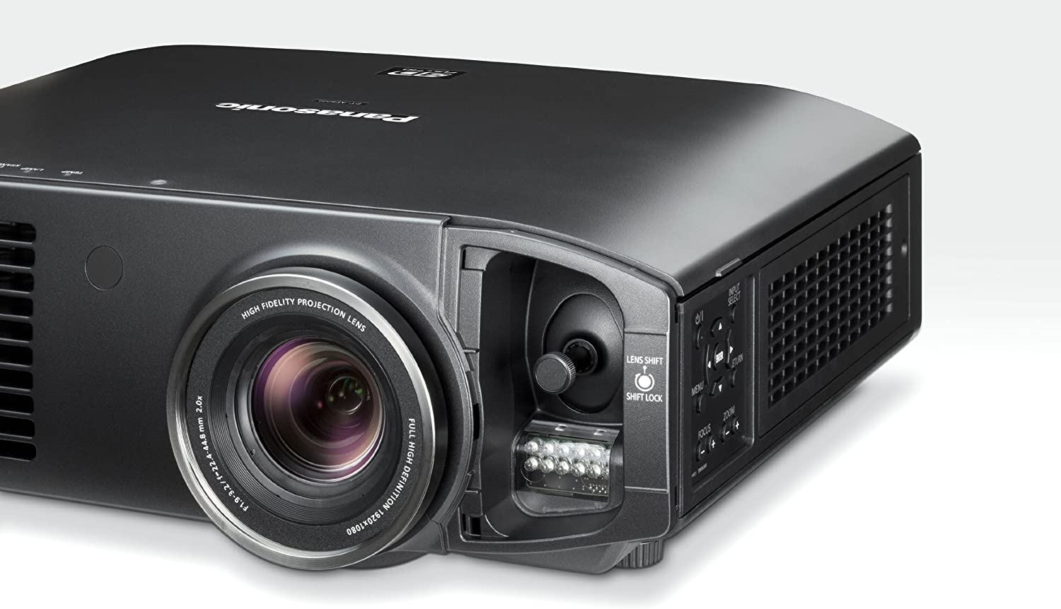 Panasonic PT-AT6000E - Proyector LCD (1920 x 1080), negro: Amazon ...