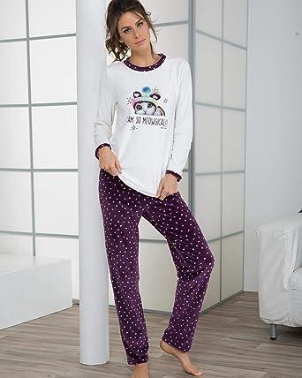 MASSANA - Pijama Mujer DE Terciopelo