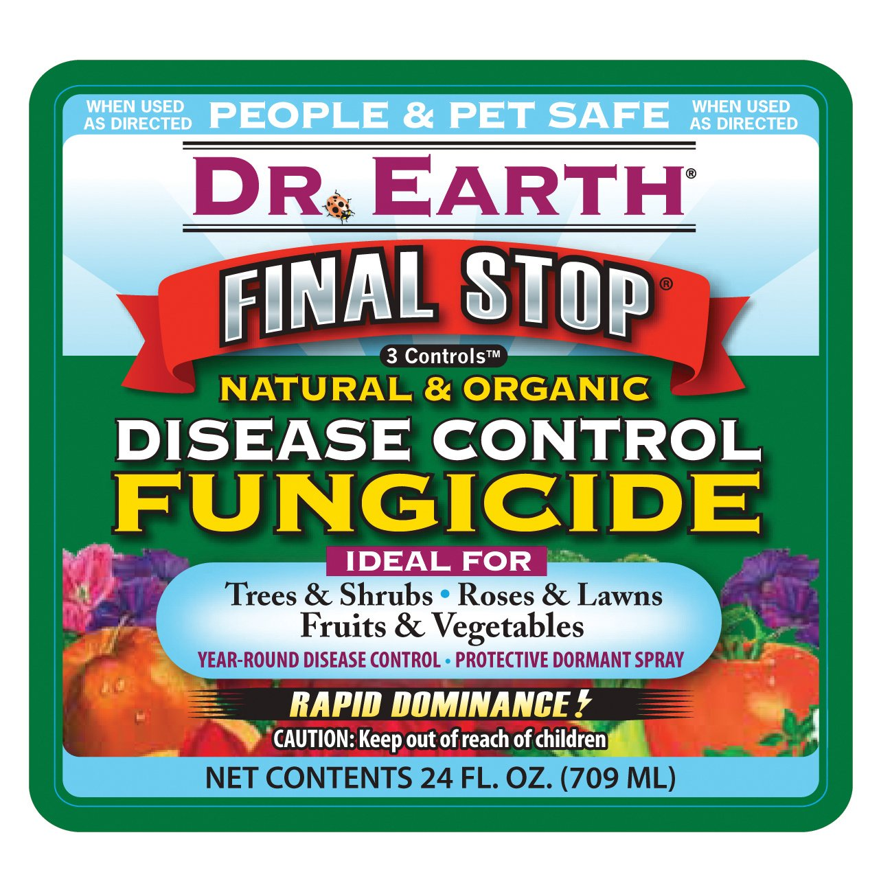 Amazon.com : Dr. Earth 8007 Ready to Use Disease Control Fungicide ...