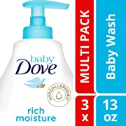 Baby Dove Rich Moisture Tip to Toe Baby Wash and Shampoo 13 oz, 3 count