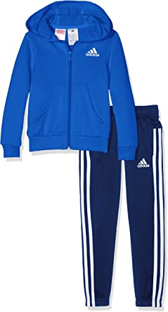 Adidas BP882- Chándal para niñas, color Multicolor (Azul/Blanco ...