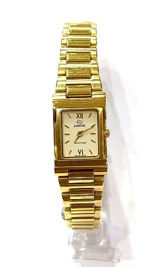 Reloj Jaguar Chapado Acero Mujer