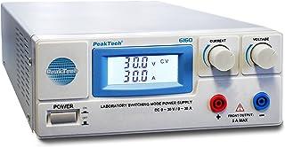 Peak tech Alimentatore da laboratorio 0–30V/0–30A DC, 1pezzo, P 6160