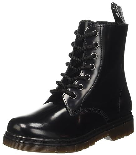 5918d686efb92 Cult Girls  CLJ101502 Combat Boots Black Size  11.5UK Child