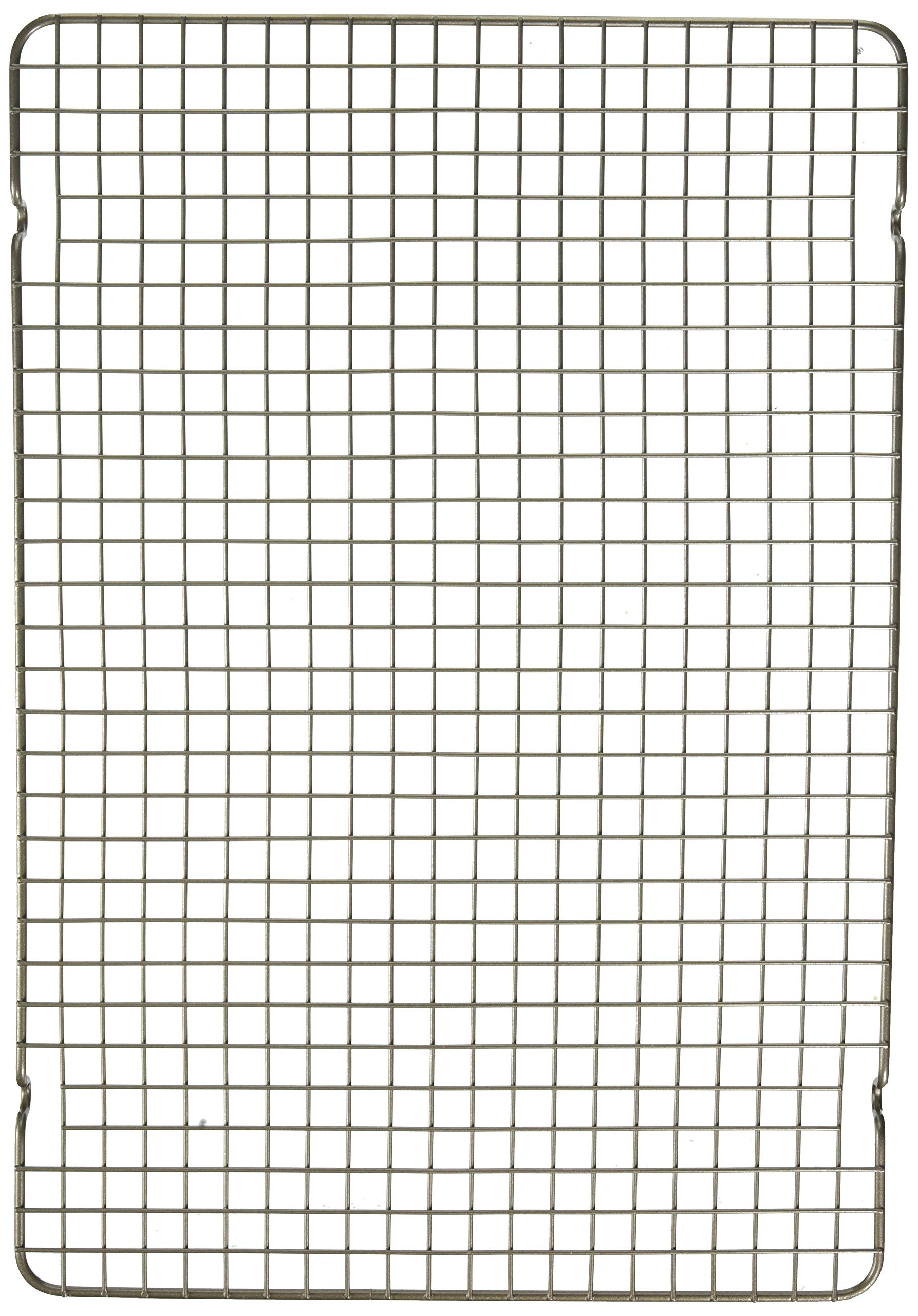 Nordic Ware 43343 Oven Safe Nonstick Baking & Cooling Grid (1/2 Sheet), One Size, Steel