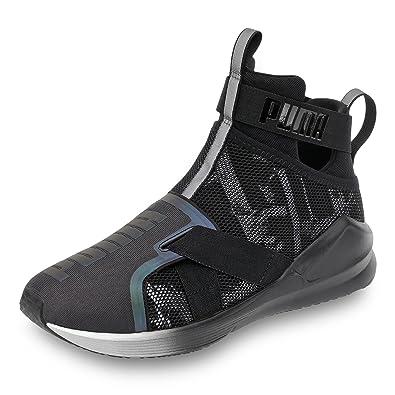 Puma Women s Fierce Strap Swan Wn S Black Running Shoes-3.5 UK India ... 1d533a9e0
