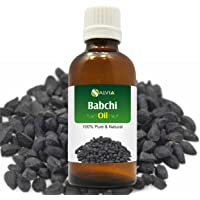 Babchi Oil (Psoralea Corylifolia) 100% Pure & Natural Undiluted Uncut Cold Pressed Carrier Oil | Best For Aromatherapy | Therapeutic Grade - 15ML/ 0.5 fl oz