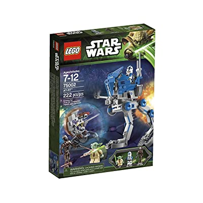 Game / Play LEGO Star Wars AT-RT 75002, Weapons include lightsaber and 2 blasters, Features articulated legs Toy / Child / Kid: Toys & Games