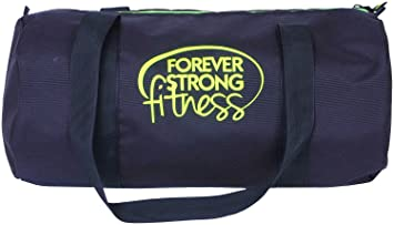 128efe1e45b9 Image Unavailable. Image not available for. Colour  SALUTE  quot HUNK FF   quot  25 Ltrs Black Duffel Gym Bag Backpack