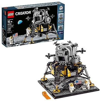 LEGO Creator Expert NASA Apollo 11 Lunar Lander 10266 Building Kit, New 2020 (1,087 Pieces): Toys & Games