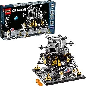 LEGO Creator Expert NASA Apollo 11 Lunar Lander 10266 Building Kit, New 2020 (1,087 Pieces)