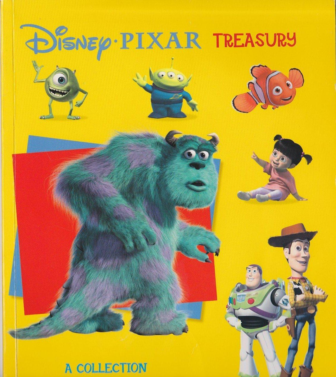 Buy Disney Pixar Treasury Book Online At Low Prices In India Disney Pixar Treasury Reviews Ratings Amazon In