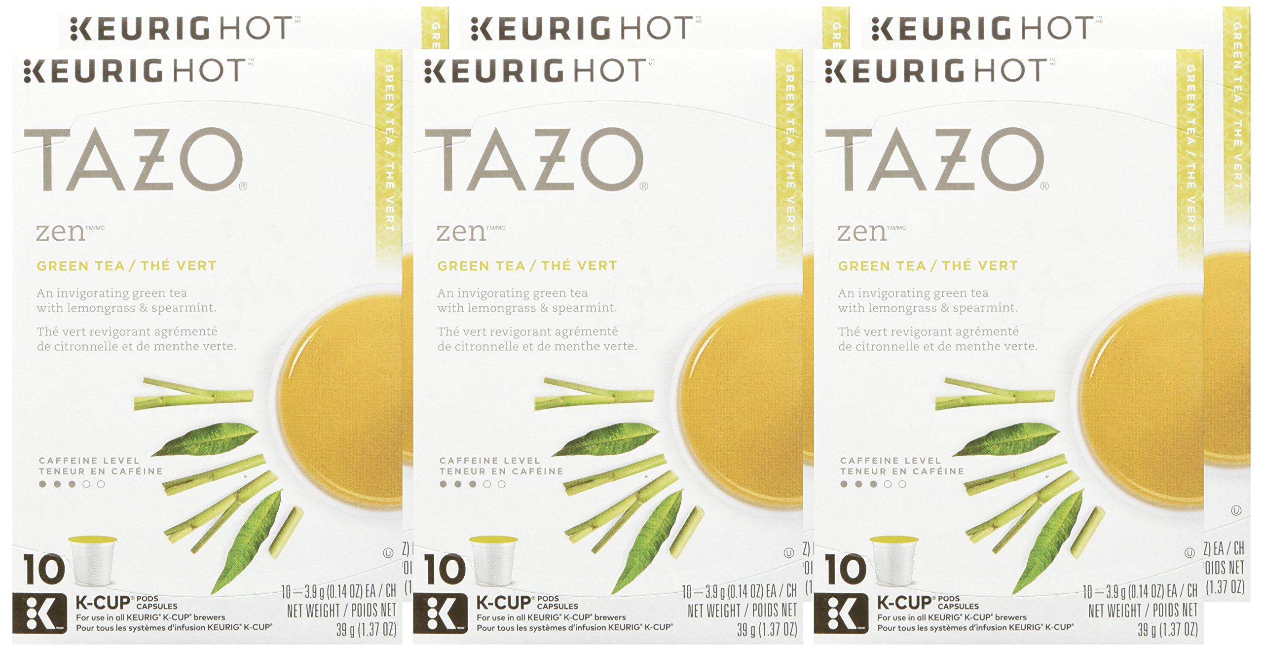 Tazo Zen Green Tea K-Cup, 10 ct (Pack of 6) by TAZO (Image #2)
