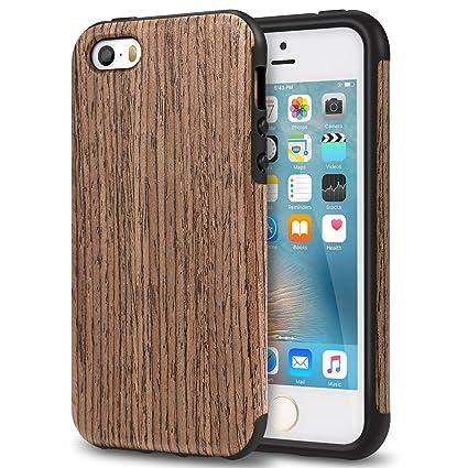 Amazon.com: TENDLIN - Carcasa híbrida para iPhone SE y ...