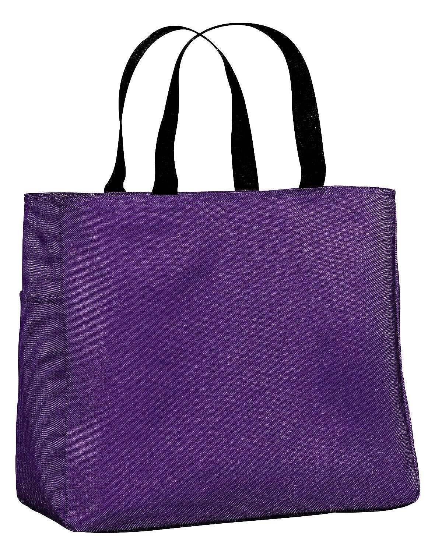 Port /& Company Essential Tote One Size Purple