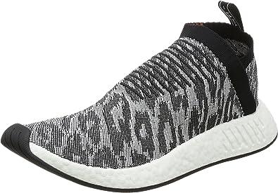 adidas Originals Mens NMD_CS2 Primeknit Slip On Trainers - Grey