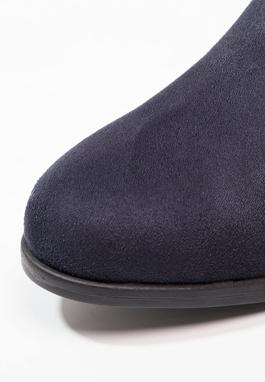 Anna Field Botas de Mujer Estilo Chelsea en Azul, Talla 36: Amazon.es: Zapatos y complementos