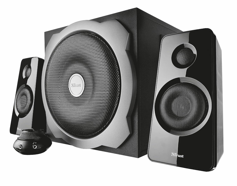 Trust Tytan 2.1 Lautsprechersystem schwarz: Amazon.de: Computer ...