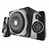 Trust Tytan 2.1 PC Speaker System with Subwoofer for Computer and Laptop, 120 W, UK Plug