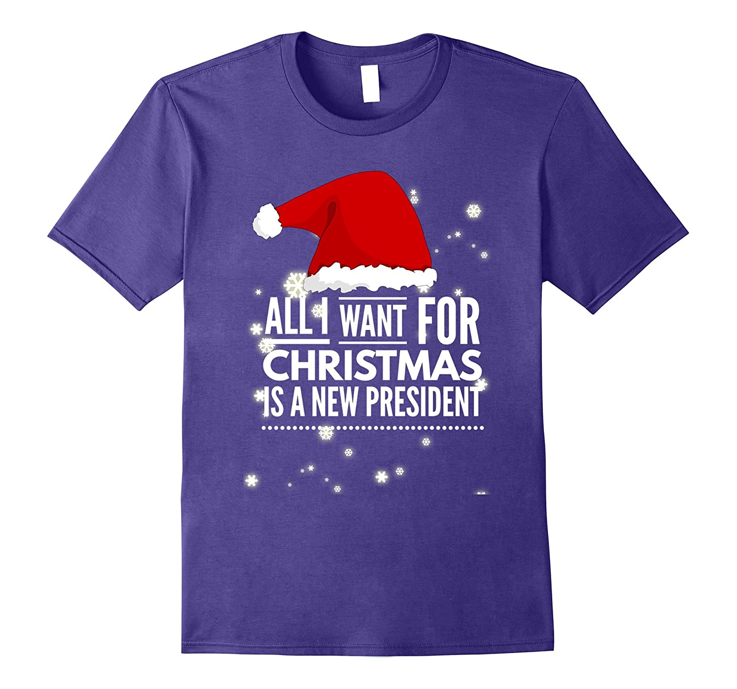 All I Want For Christmas Is A New President Anti Trump Shirt-ANZ