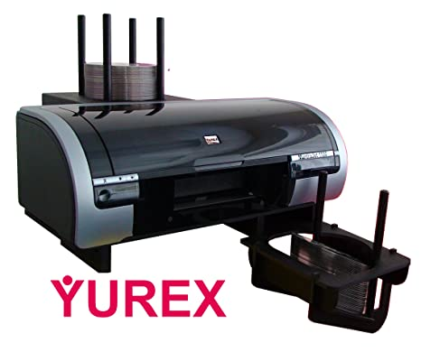 Amazon.com: yurex mantrajet 1100 cd/dvd Printer – 100 ...