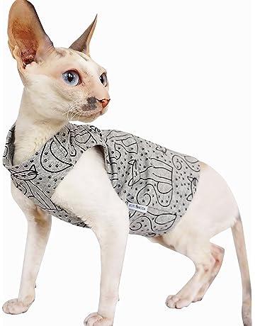 Kotomoda ropa para gatos camiseta gris gato (XS)