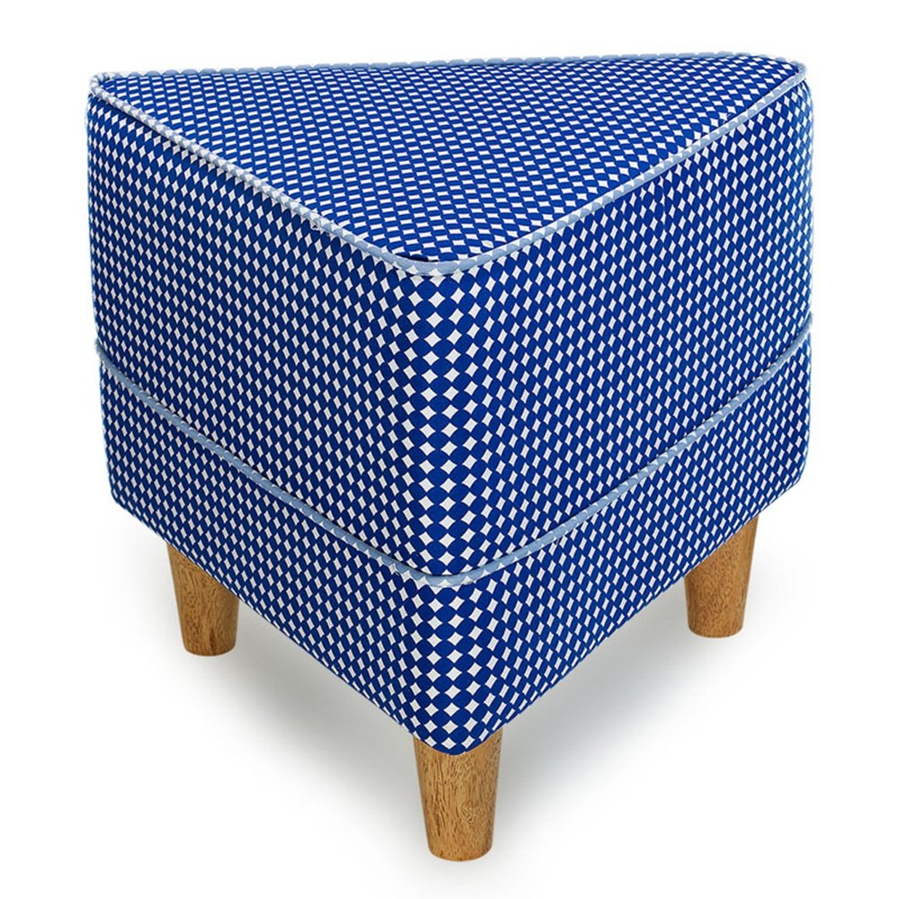 ZHIRONG Solid Wood Stool Fashion Ideas Sofa Stool Coffee Table Stool Low Stool (Color : B, Design : Triangle)