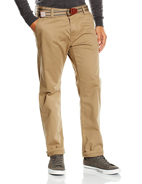 TALLA 31W / 34L. Tom Tailor Chino Pants with belt/508 - Pantalones para Hombre