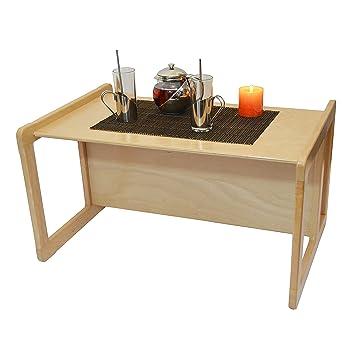 Obique 3 En 1 Une Grande Table Café Multifonctionnel Adultes Une
