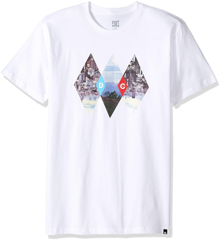 DC - Dc Dc Dc - Männer atmen T-Shirt, X-Large, Snow Weiß 917cba