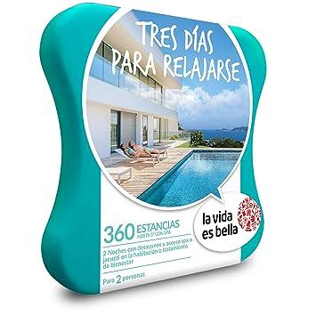 LA VIDA ES BELLA - Caja Regalo - TRES DÍAS PARA RELAJARSE - 360 hoteles de