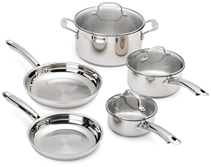 Cuisinart 8 piece cookware set