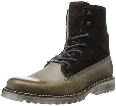 Buffalo Men Herren 7335 Suede Chukka Boots, Mehrfarbig (GREY328), 44 EU