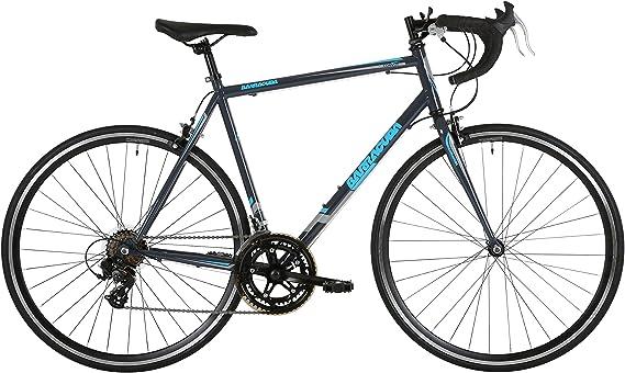 Barracuda Corvus – Bicicleta 700 C 14 Velocidad para Bicicleta de Carretera Gris Azul edición Limitada, Negro, Azul y Gris: Amazon.es: Deportes y aire libre