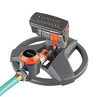 Gardena ZoomMaxx Sprinkler on Sled Base w/Water Timer