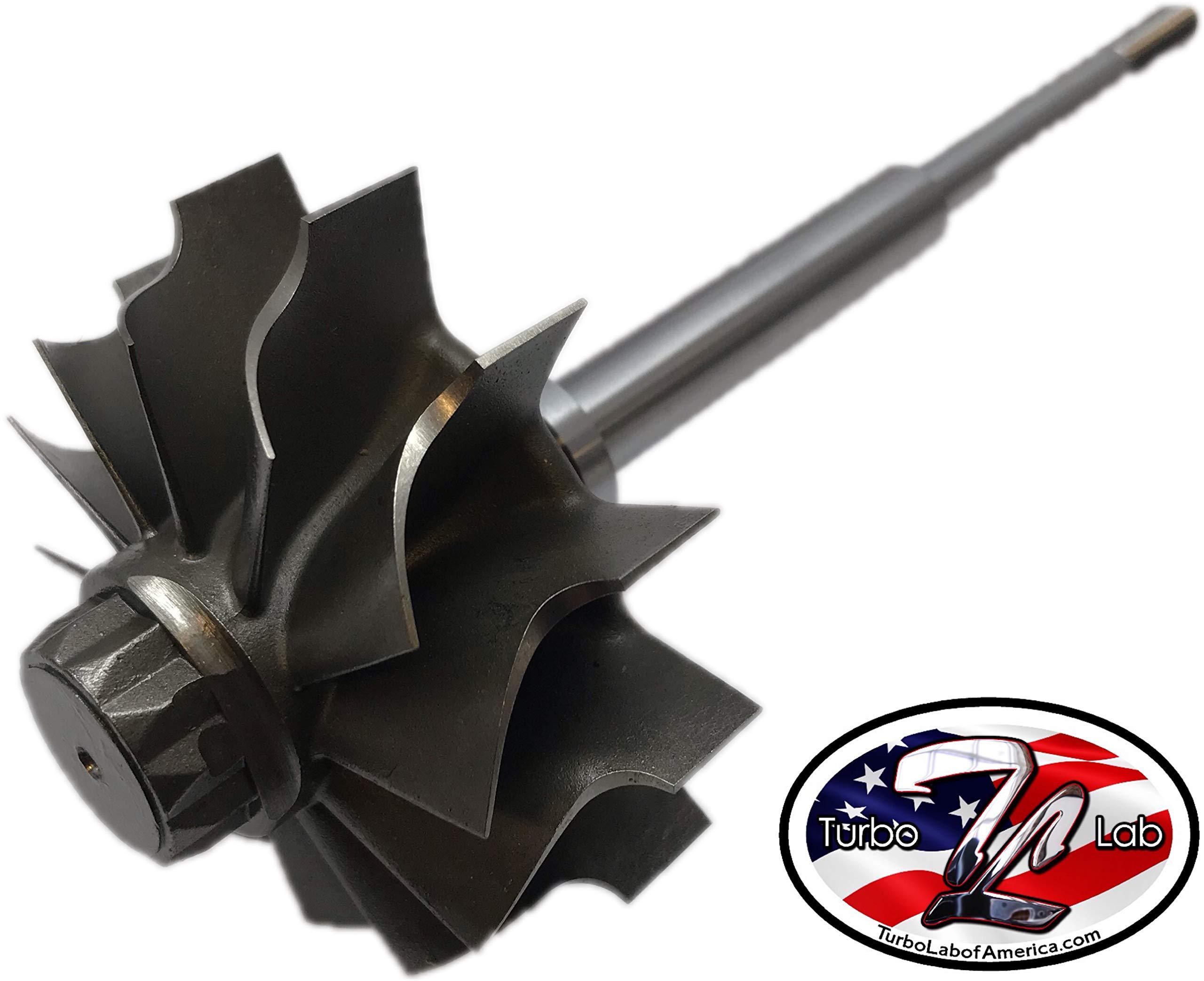 Turbo Lab America Holset HX35 H1C Turbine Wheel Shaft by Turbo Lab America