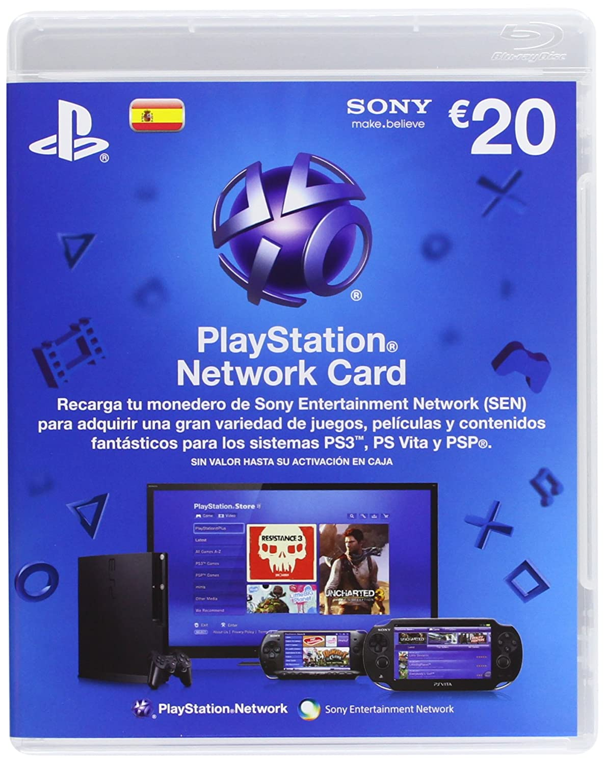 PlayStation Network Card: Amazon.es: Electrónica