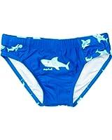 Playshoes Jungen Badehose 460124 Badehose Hai mit höchstem UV-Schutz nach Standard 801 und Oeko-Tex Standard 100